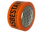Asbestejp Orange 50mm x 66m
